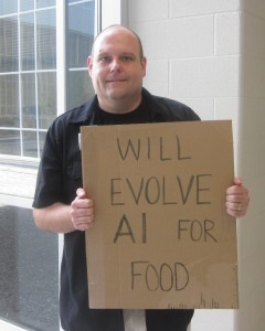 Arend Hintze: Will Evolve AI For Food